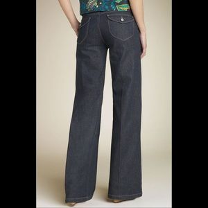 Paige Hillhurst Wide Leg Denim Trousers *NWOT*